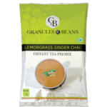 Lemongrass masala instant tea premix